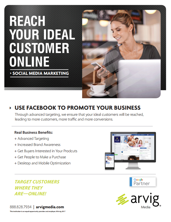 Reach your ideal customer online product sheet