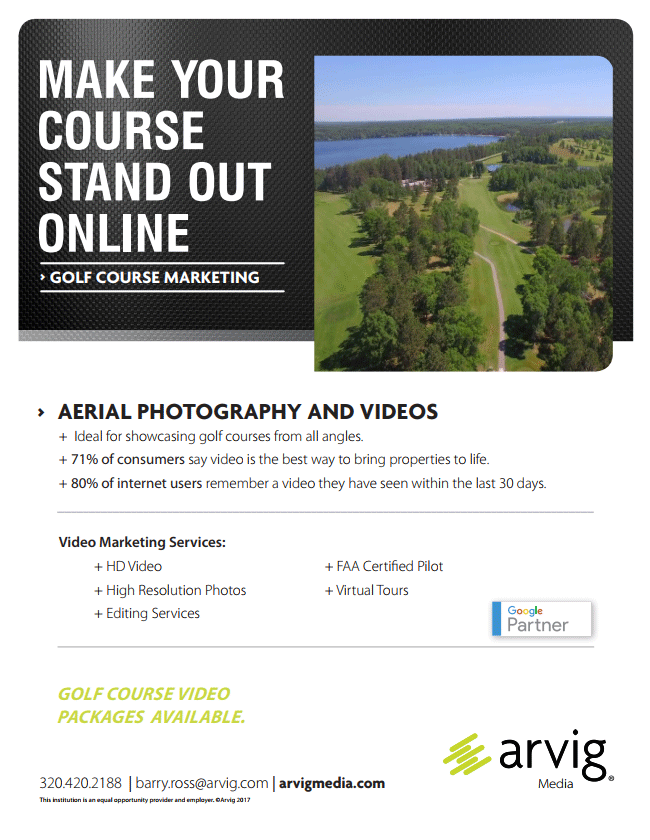Golf Course Flyer