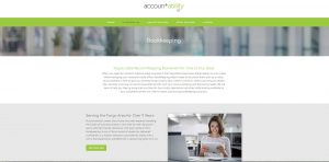 Accountability new website by Arvig Media